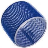 Бигуди на липучке 80мм синие,  3шт SIBEL