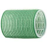 Бигуди-липучки зеленые d 48 мм (12 шт.) DEWAL